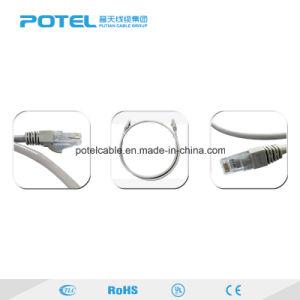 UTP Cat5e/6/6Un estándar RJ45 Cable de cobre del cable del puente de comunicación de datos