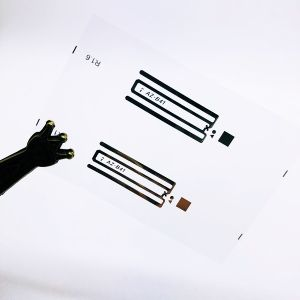 EPC1 Gen2 Monza 4E 수동적인 RFID 꼬리표 UHF RFID HY-B41 22*8mm 건조하고 젖은 상감세공