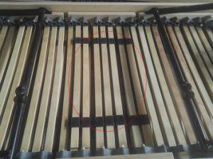 كهربائيّة قابل للتعديل خشبيّة قدر سرير مع ذاكرة فراش يبرق أو لاسلكيّة سمّاعة يد, سرير خارجيّة