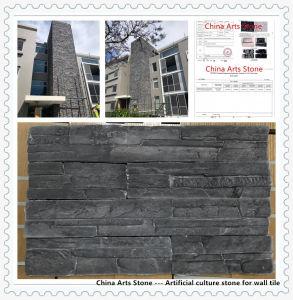 Ecológica Rojo/Blanco/Negro el cemento Artificial producto de la cultura de la piedra de mármol de granito para Villa/ pared de castillo o suelo de mosaico (con Australia prueba sin amianto)