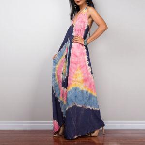f1db0a686 La eslinga de Backless Amazon nuevo balón largo vestido de Moda Vestido con  cuello en V