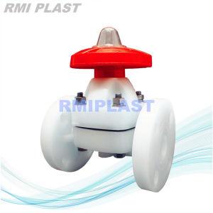 PVDF Weir type diaphragme/flasque en plastique PVC véritable Union clapet à bille électrique pneumatique /PP du clapet antiretour de pivotement /PVDF Main vanne papillon de pignon