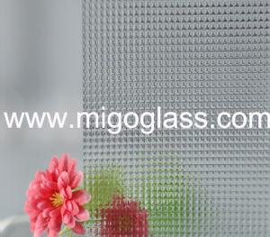 Het ultra Duidelijke Glas van de Kunst van het Glas van het Patroon met het Glas van het Patroon Nashiji