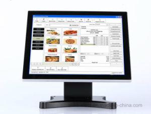(Capacitivo PCAP) Monitor de toque com 17 polegadas verdadeira TV de tela plana