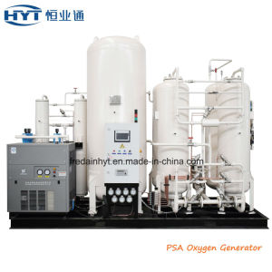 La unidad de separación de aire Máquina de producción de gas de oxígeno
