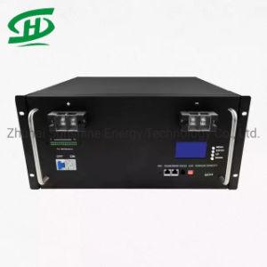 Cycle de profonde 48V 100Ah 5kw LiFePO 4 batterie lithium-ion de stockage pour PV SOLAR