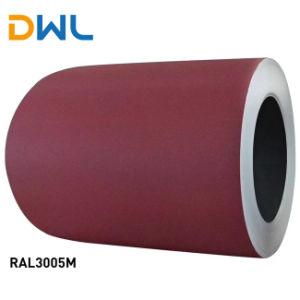 PPGI Prepainted bobinas de acero galvanizado Prepaint bobinas de acero Galvalume