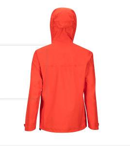 Wholesale impermeable transpirable Hombres chaqueta con cremallera resistente al agua