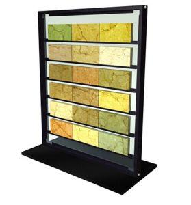 Rack pour le Conseil de l'échantillon de pierre d'affichage, la tuile Échantillon, la tuile de bord
