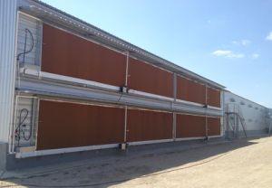 Estrutura de aço prefabricadas de capoeira House/ Casa de frango (KXD-SSB59)