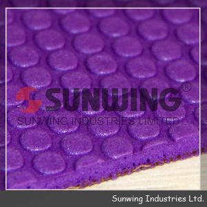 Sunwingの卸し売りゴム製麻布TPEのヨガのマット
