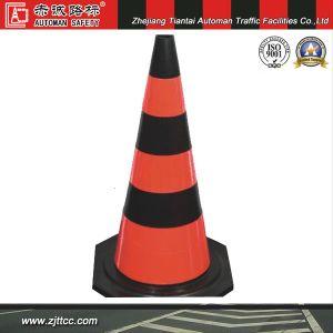 """28 """" Avertissement de sécurité en caoutchouc réfléchissant cône routier (CC-A12)"""