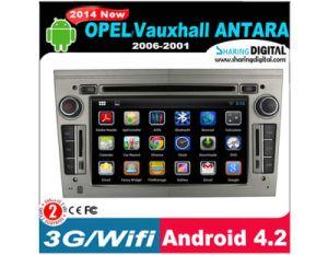 Sharingdigital Capative Touch Screen Android System Car DVD per Opel Antara