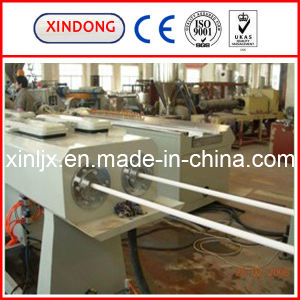 PVC二重管の放出ライン