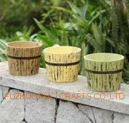 Деревянный ковш деревянный Flower Pot дерева сеялки цветов (FC13-C058)