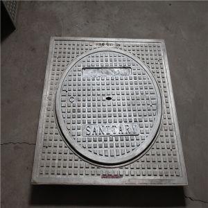 Прямоугольная решетка крышки люка круга заводе прямая продажа