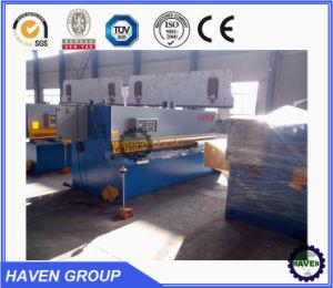 Cnc-hydraulische Presse-Bremsenmaschinen-Stahlplatte verbiegende Maschine