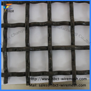 Tejido de alambre de acero alto carbono Vibrante pantalla