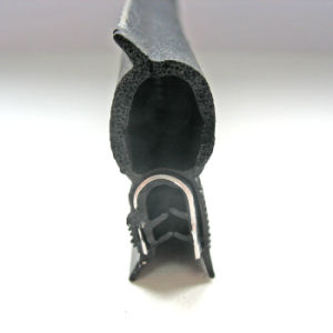 De aangepaste Kleurrijke Fabrikant van de Strook van het Venster van de Deur van het Koord van de Strook van de Verbinding van het Type van D Rubber
