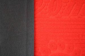 Couvre-tapis de vente chaud du PE 2017 avec le support de PVC (3G-CARPET)