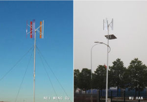 AC 96V/120V Трехфазный блок распределения питания 3Квт оси Vertial ветровой энергии турбины (SHJ-VH3000)