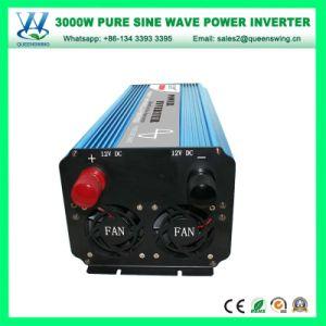 Cc48V AC110/120V 3000W Inversor senoidal pura com mostrador digital (QW-P3000)