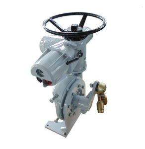 Caixa de engrenagens eléctrico de alto torque para a válvula de controle do atuador