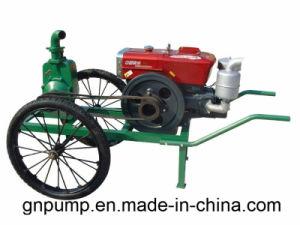 Haut de la tête trois pouces Self-Priming agricole de la pompe à eau 80ZB-55