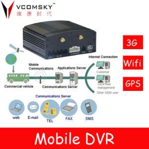 Förderwagen Managerment DVR mit 3G/GPS/WiFi G-Sensor für Optional