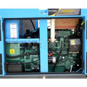 Tipo generatore di riserva 20kVA di Keypower Denyo di alimentazione di emergenza con il motore della Perkins raffreddato a liquido