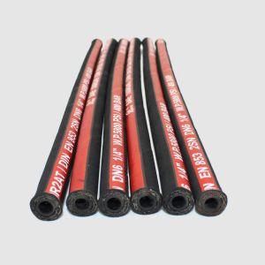 Uno y dos hilos de caucho trenzado manguera hidráulica 1sn sn 2R1 R2