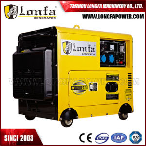 6.3kVA 5kw alimentato dal generatore silenzioso eccellente del motore diesel