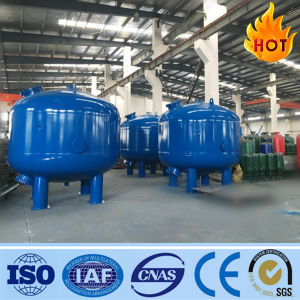 Tank de Van verschillende media van de Filter van het Zand van het Koolstofstaal van de Filter/van de Filter van de Druk/in de Behandeling van het Water