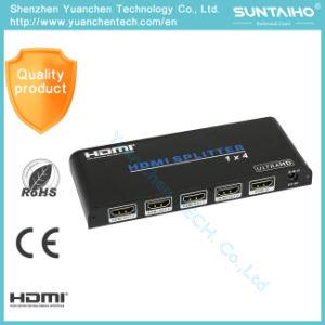 2.0V de Splitser HDMI van de Havens 1080P van de Adapter van HDMI 1*4