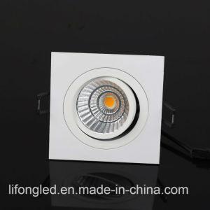 Diseño LED 2017 LED Downlights 7 vatios COB LED