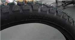275-17 Gummireifen des Motorrad-120/80-17 für vorderes hinteres Rad