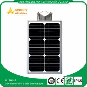 12W IP65 imprägniern im Freien alle in einem Solar-LED-Straßen-Garten-Licht
