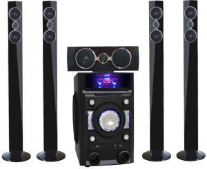Système Home Cinema 5.1 canaux alimentés multimédia radio FM de son actif Loud haut-parleur Bluetooth