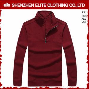 Camicia 100% di polo lunga dei manicotti di marchio su ordinazione del cotone (ELTPSI-24)