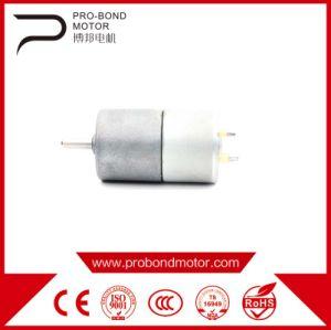 Micro reductor motor eléctrico DC de 27mm para el limpiador de inteligente