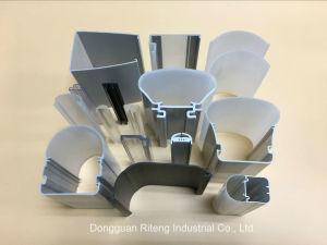 Perfil de extrusão de plástico PERFIL PVC Perfil do setor em tubos de PVC