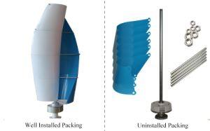 2017 turbina di vento a spirale verticale calda di asse di CA 12V di vendita 400W (SHJ-NEV400S)