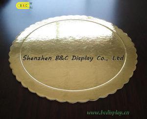 Runder Kuchen-Vorstand, der glänzender Kuchen-niedrige Vorstände mit SGS, FDA (B&C-K005, prägt)