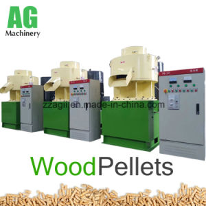 La biomasa pellets de aserrín de madera peletizadora de la línea de decisiones