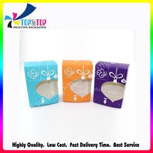 Высокое качество цветной печати Clear плоские складные коробки бумаги