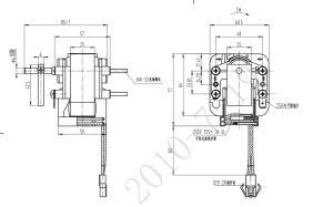 공기 냉각기 압축기 냉장고 진동을%s 1000-3000rpm에 의하여 폴란드 차광되는 모터
