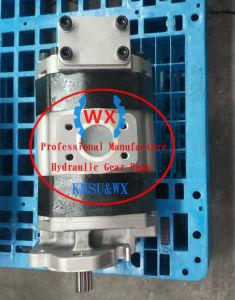 OEM! 大きいボリューム! Wanxunの製造業者の小松油圧ギヤポンプは車輪のローダーWa500-1-a Wa400-3A Wa450-3のための705-22-40070を分ける