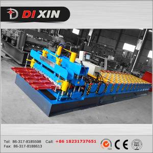 Les matériaux de construction en acier de couleur tuile de toit machine à profiler de panneau