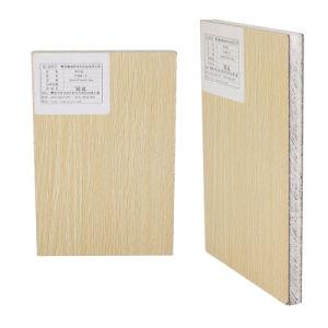 Panel Sandwich en forma de panal de PP reciclable con envoltura de grano de madera