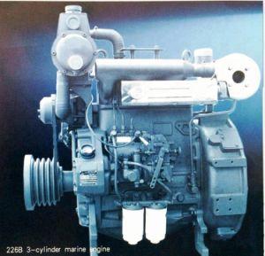 小さいクラフトのためのSAE3フライホイールハウジングが付いている手前側にあるか船外ディーゼルモーター